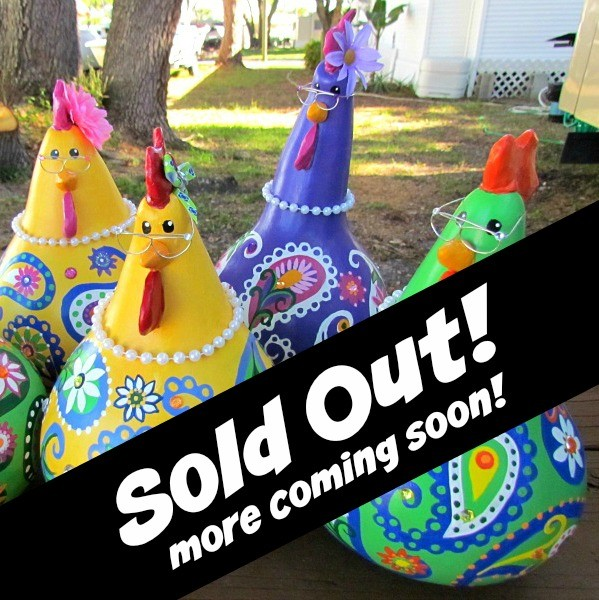 gossiping chickens sold out
