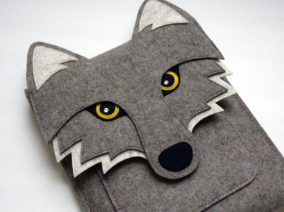 Wolf iPad Sleeve by Boutique ID #Etsy