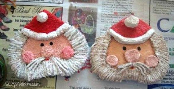 paper-mache-santa-ornament-diy11