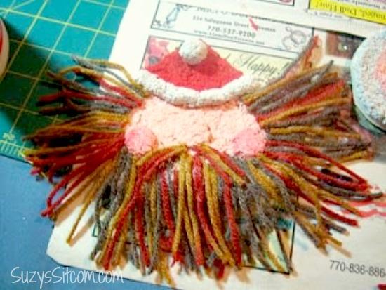 paper-mache-santa-ornament-diy8