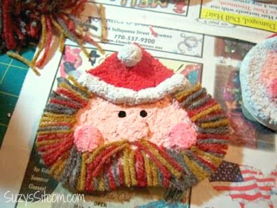 paper-mache-santa-ornament-diy9
