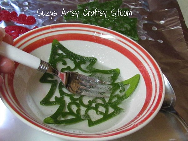 single use diy christmas soaps