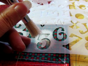 Holiday Santa Advent Calendar Tutorial / Suzys Artsy Craftsy Sitcom #pattern