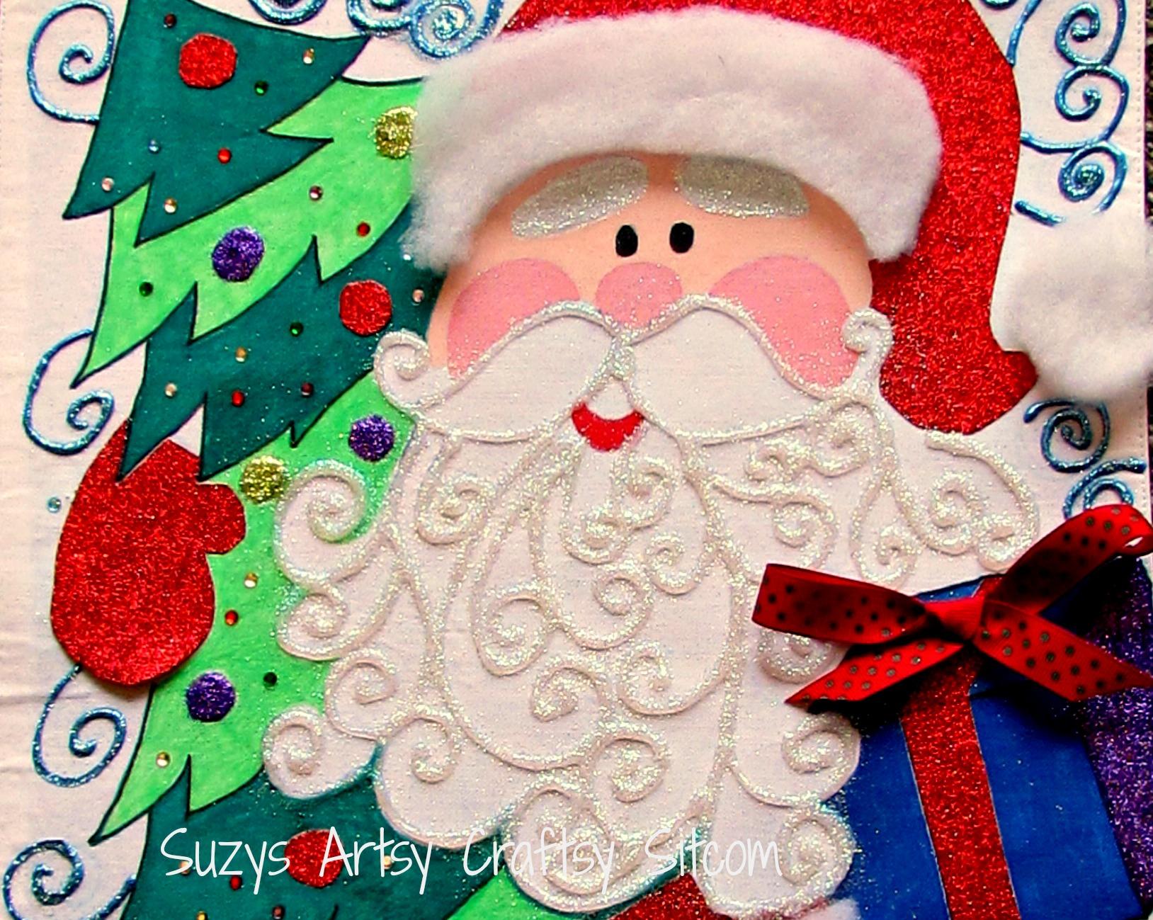 Holiday Santa Advent Calendar Free Pattern