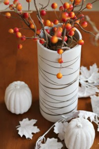 Faux Birch Vase by Turtles and Tails #paint