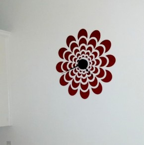 Decal Clock/ Walls Need Love