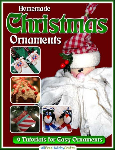 Homemade Christmas Ornaments 9 Easy Ornament Tutorials / Suzys Artsy Craftsy Sitcom