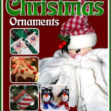 homemade christmas ornaments free ebook