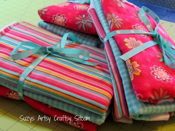 Learn to sew -creating designer dust cloths