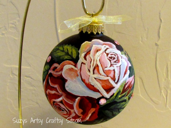 roses ornament by suzys sitcom