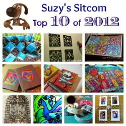 Suzys Artsy Craftsy Sitcom top tutorials of 2012