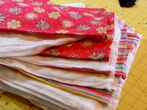 making designer dust cloths