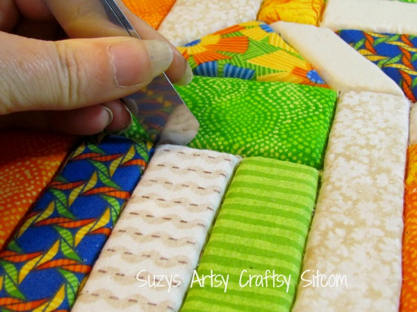 recycled crafts faux quilted bulletin board12