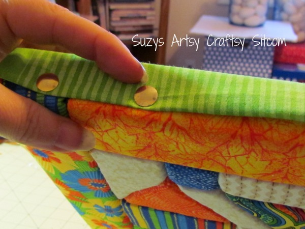 recycled crafts faux quilted bulletin board15