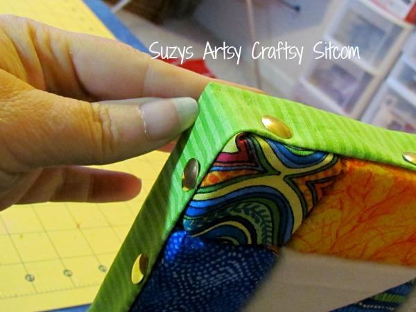 recycled crafts faux quilted bulletin board16