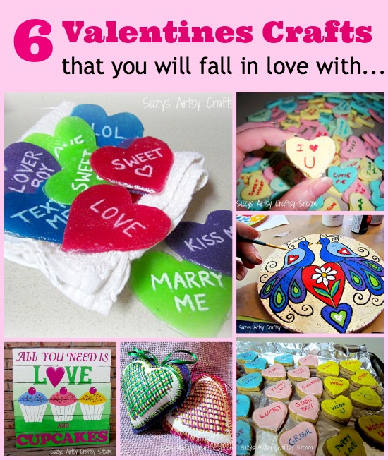 6 valentines crafts that you will love
