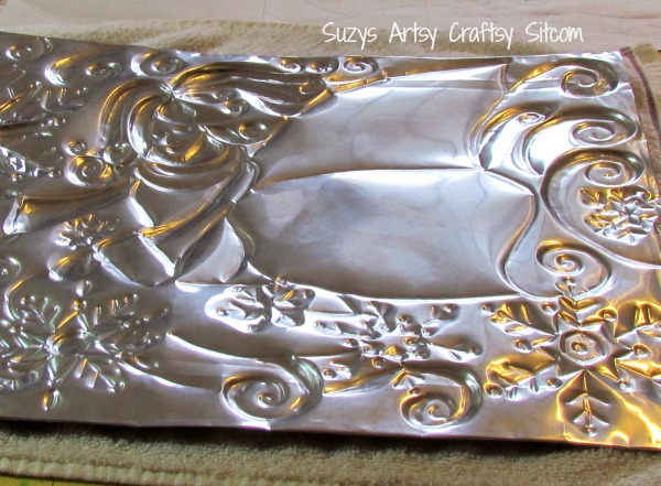 winter fairy free pattern metal embossing tutorial
