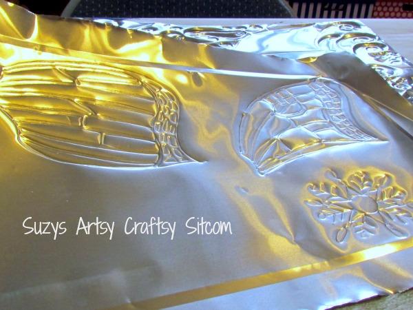 winter fairy free pattern metal embossing tutorial