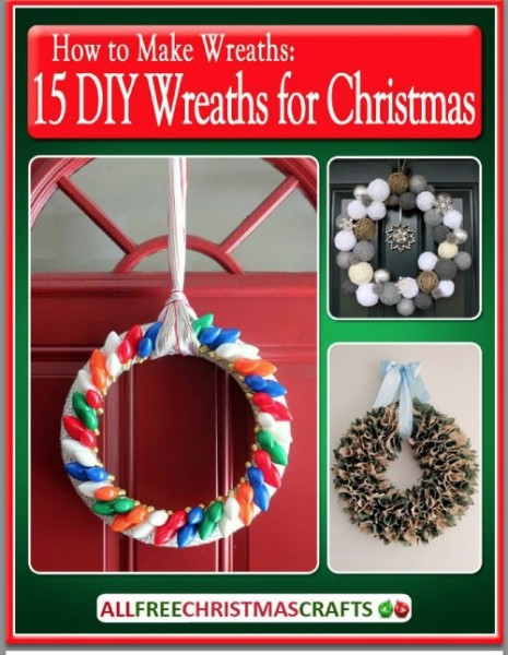 15 diy wreaths for christmas ebook