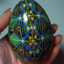 ukrainian egg for easter gift