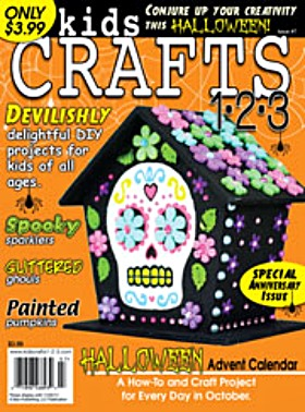 kids crafts halloween magazine
