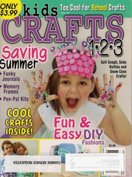 kids crafts magazine