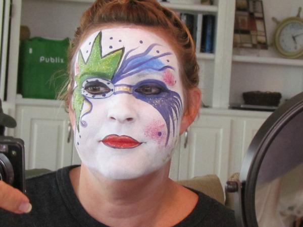 face painting hidden talent