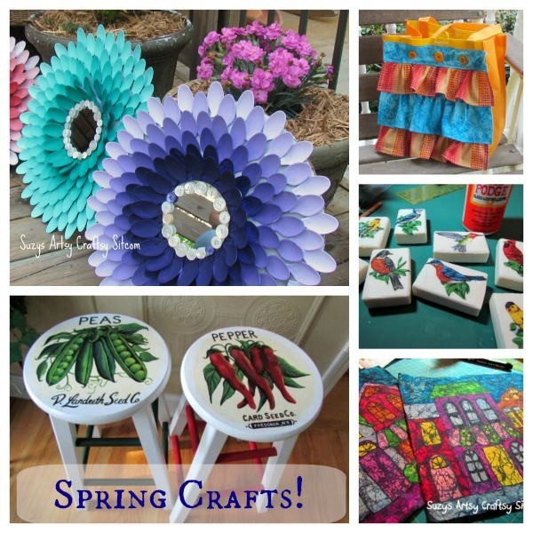 spring craft tutorials