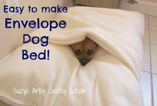 Make A Cool Envelope Dog Bed