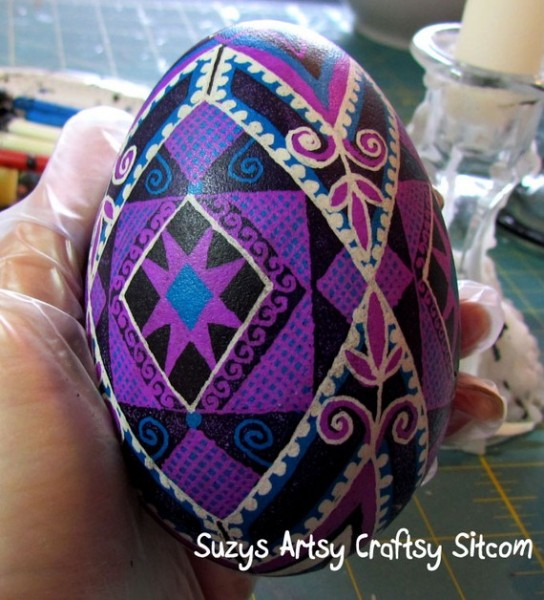 ukrainian egg art by suzys sitcom