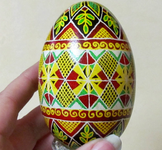 ukrainian egg - sunny days