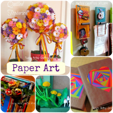 paper art crafts