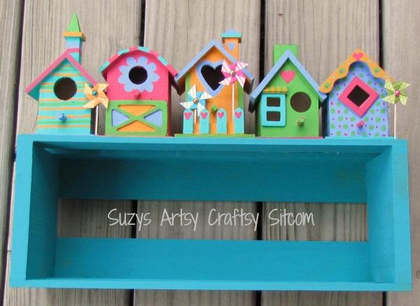 birdhouse shelf