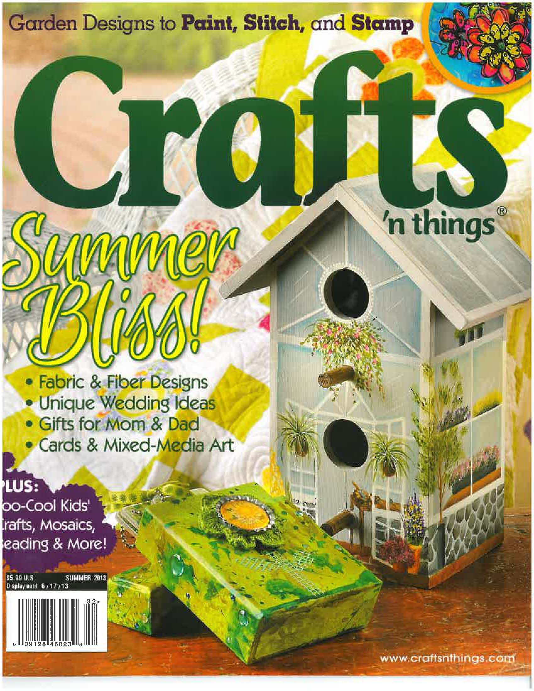 2 Quilled Projects Featured In Crafts N Things Magazine