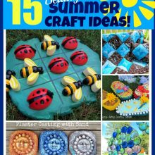 15 beautiful summer craft ideas