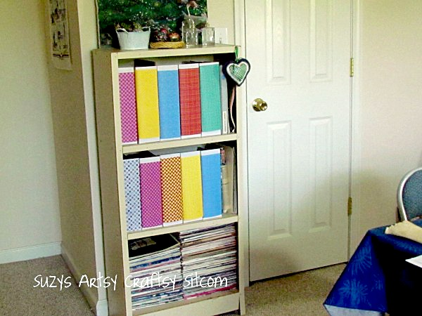 craft room organization before and after