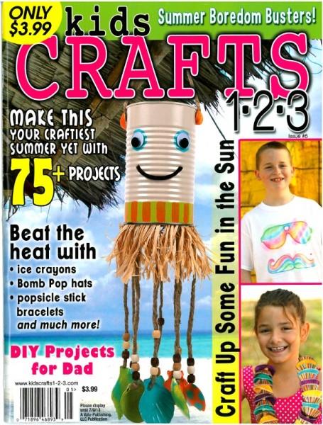 kids crafts 123 magazine