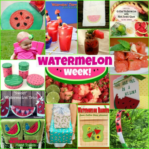 watermelon week recipes and crafts