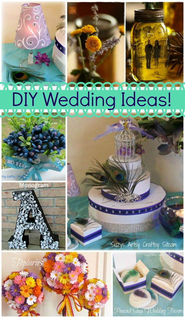 Creative Diy Wedding Ideas : Unique diy wedding ideas to keep you in your budget
