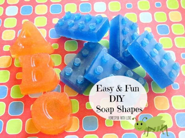 fun shaped soaps