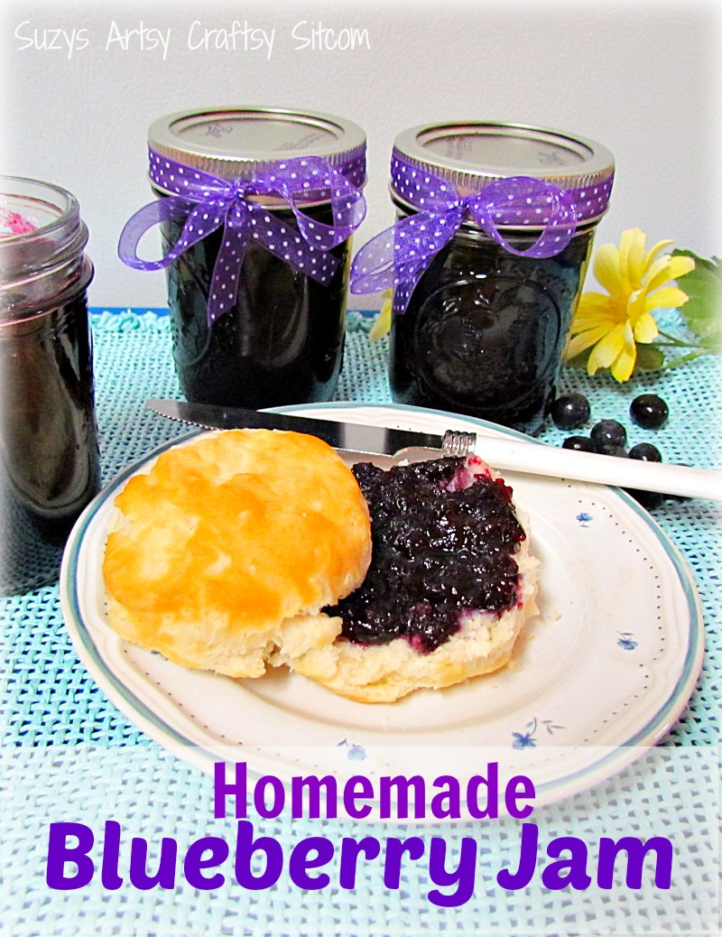 Simple canning how to make homemade blueberry jam - Advice making jam preserving better ...