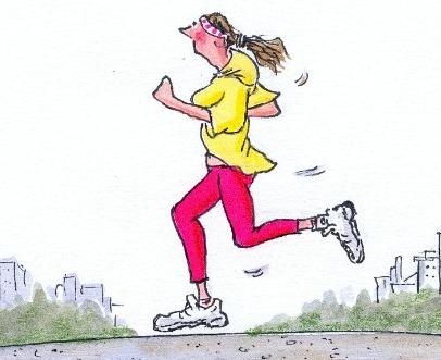 running in the georgia heat