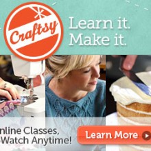 craftsy video classes