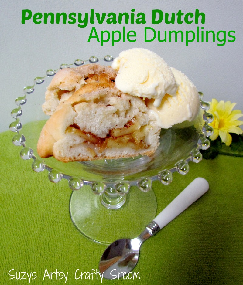 ... old fashioned apple dumplings apple dumplings with cider rum sauce