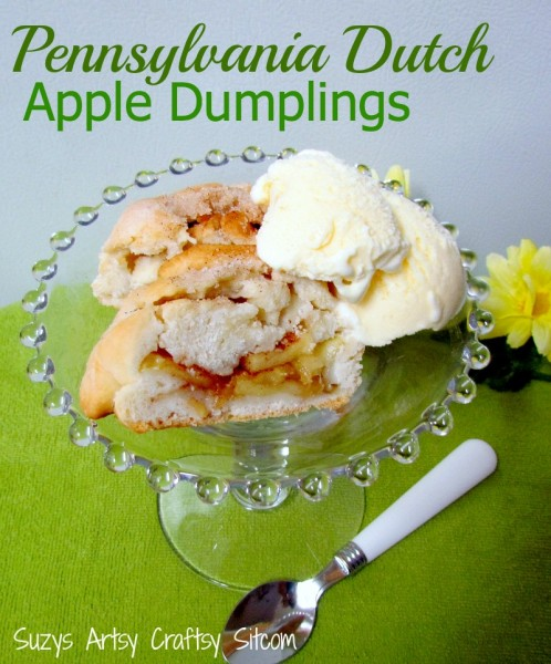 pennsylvania dutch apple dumplings recipe