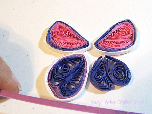 paper crafts quilled butterfly headband