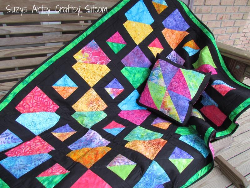 Batiks Gone Wild Quilt Pattern- my latest design! : quilt patterns for batiks - Adamdwight.com