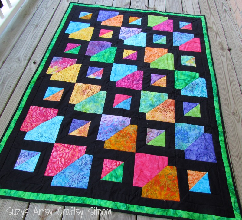 Batiks Gone Wild Quilt Pattern- My Latest Design