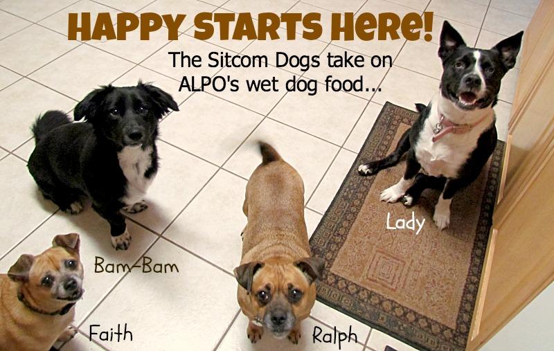 sitcom dogs take on alpo wet dog food