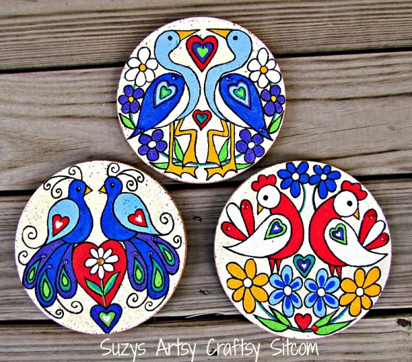 easy decorative folk art diy free patterns